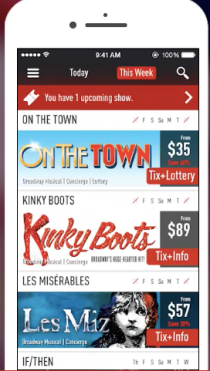 TodayTix Discounted Shows