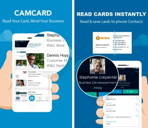 staying organized with CamCard